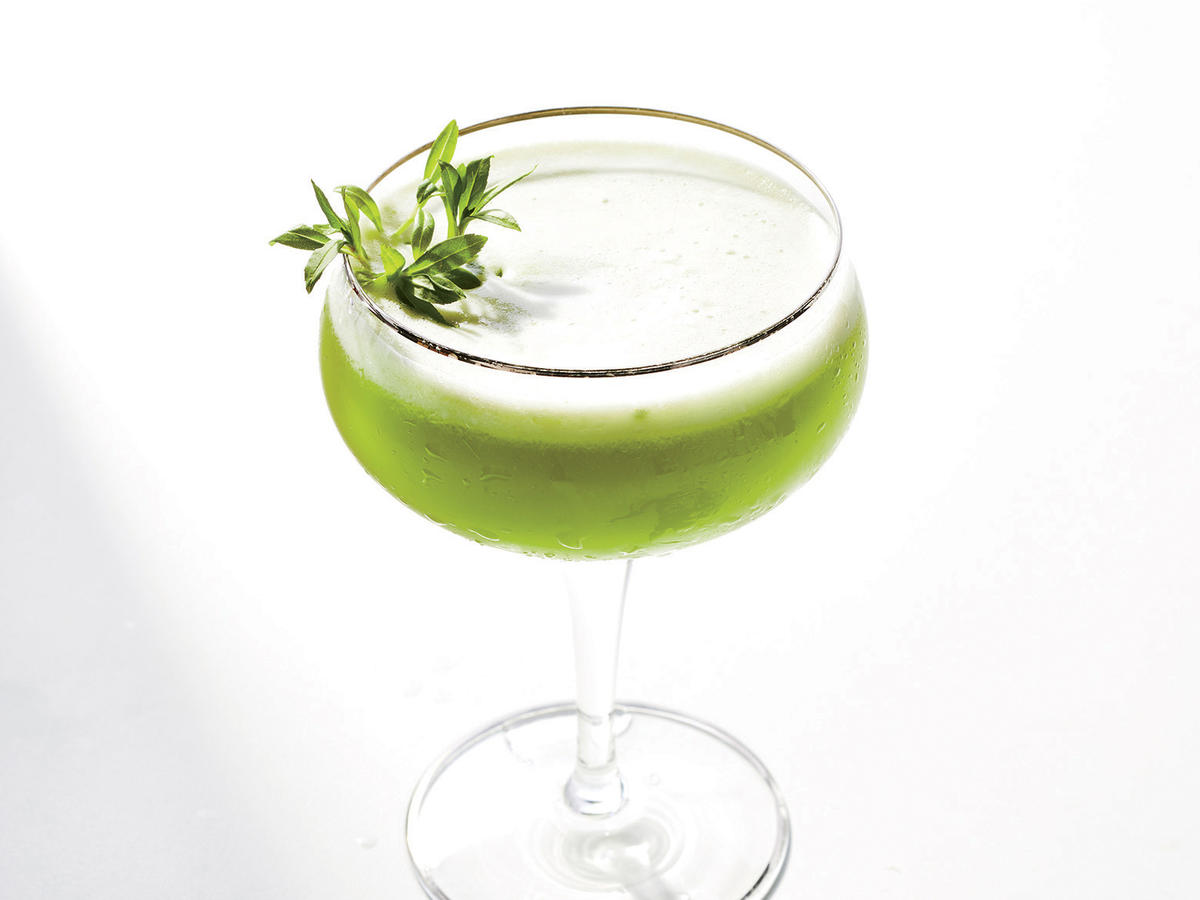 Pea and Cucumber Cooler