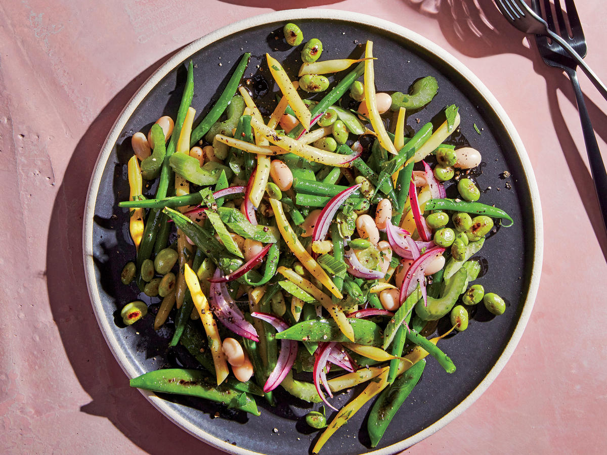 Four Bean (and One Pea) Salad
