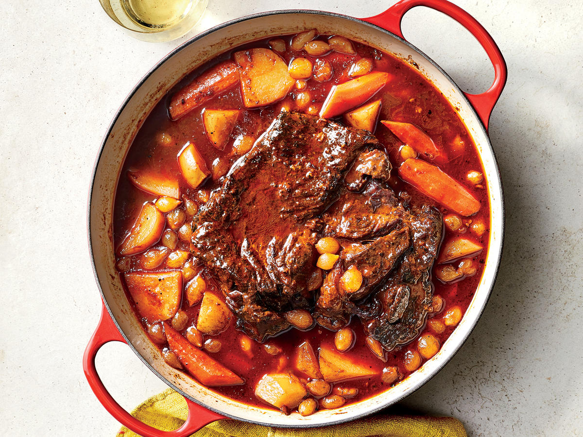 Oven-Braised Pot Roast