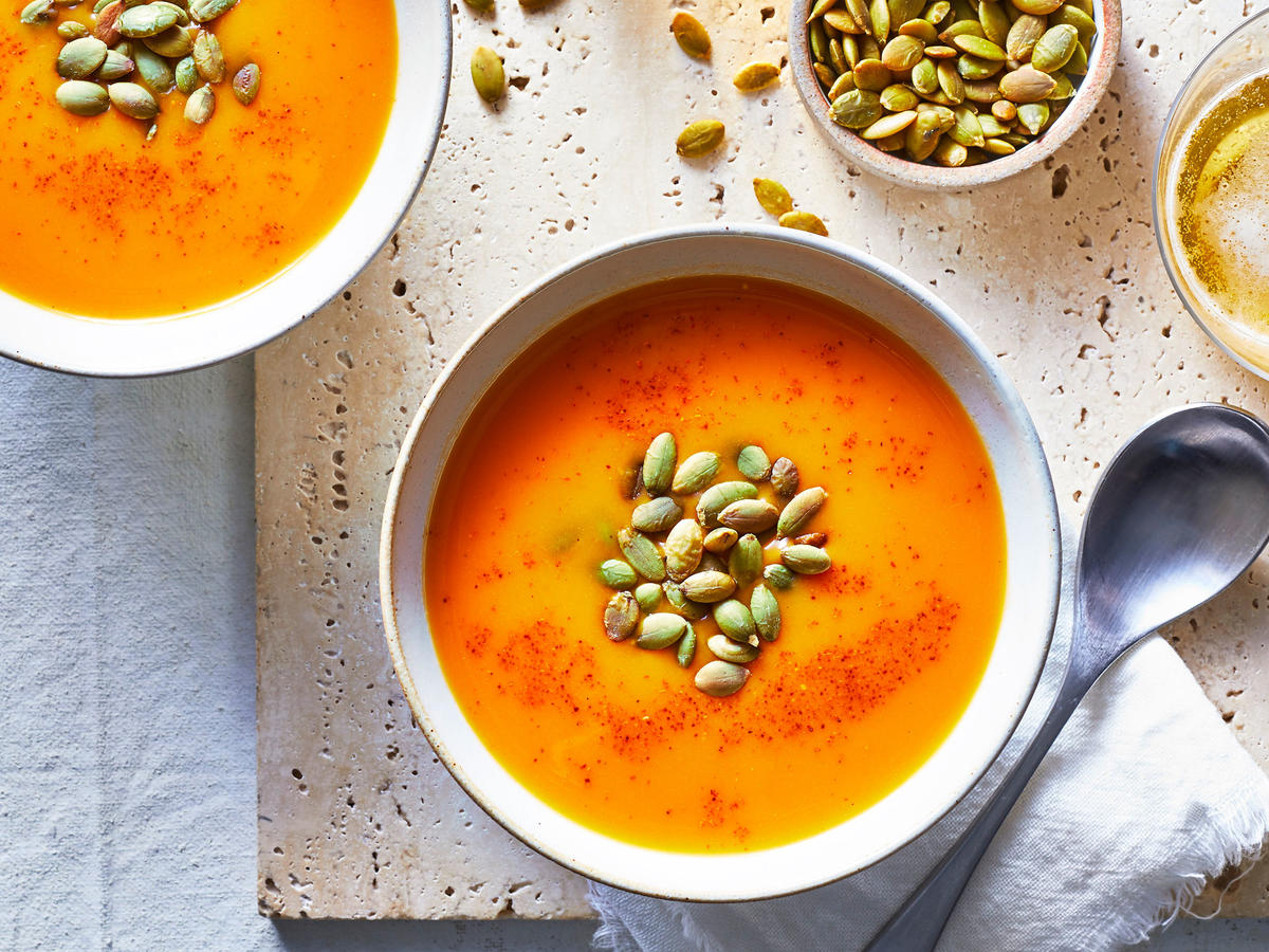 Roasted Red Pepper Cold Summer Soup
