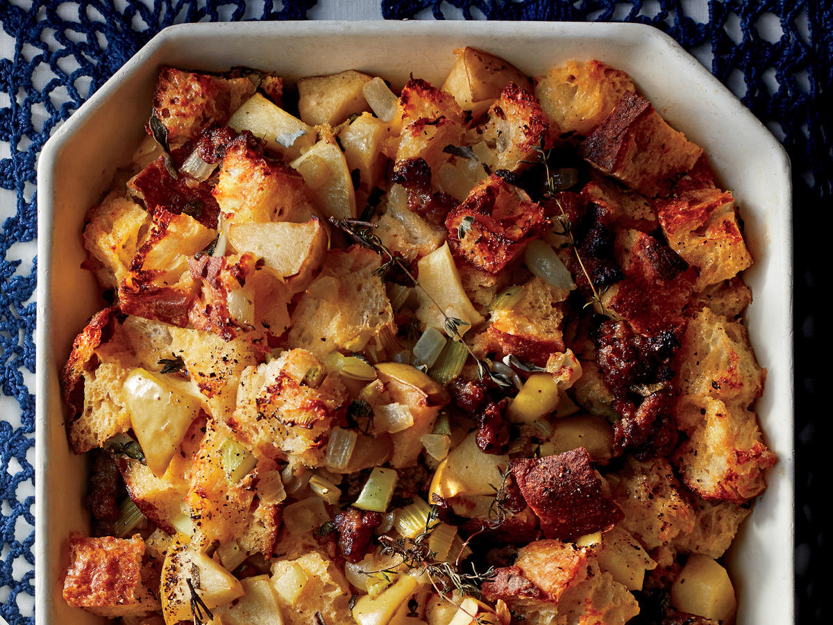 Sausage, Apple, and Herb Stuffing
