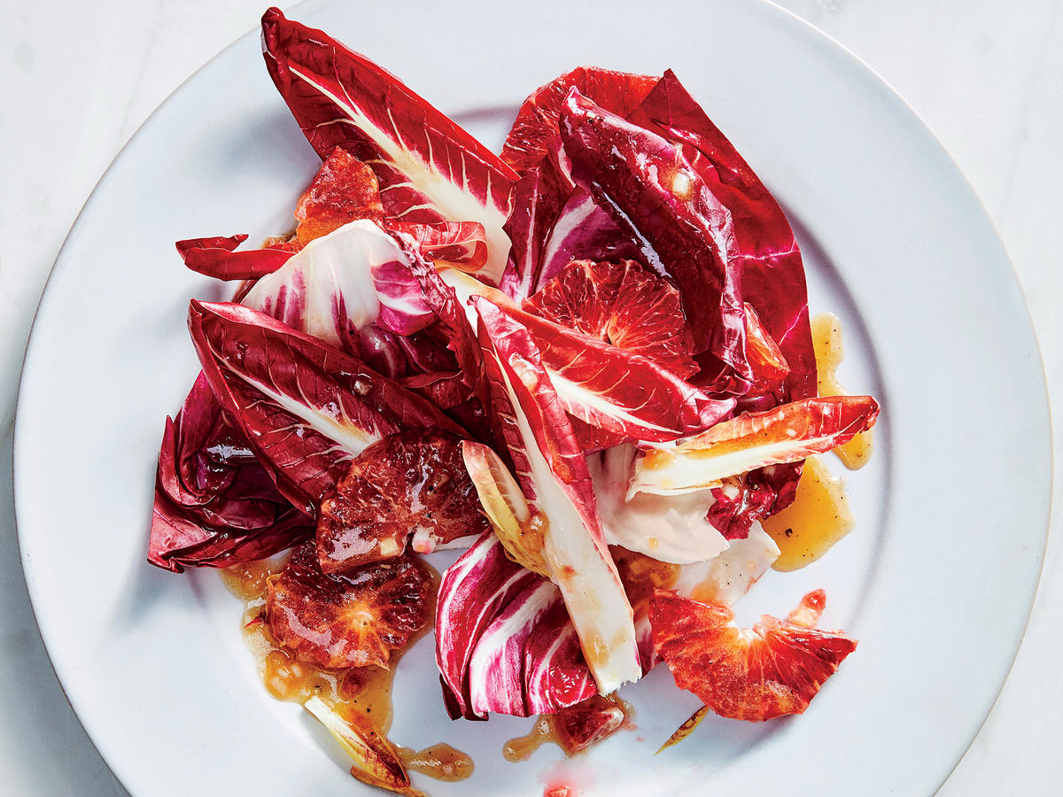 Radicchio Salad with Angostura Vinaigrette