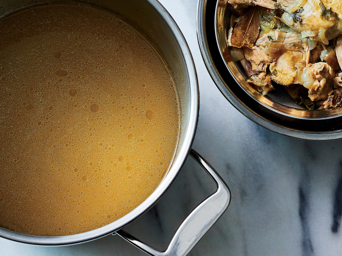 East-West Chicken Stock