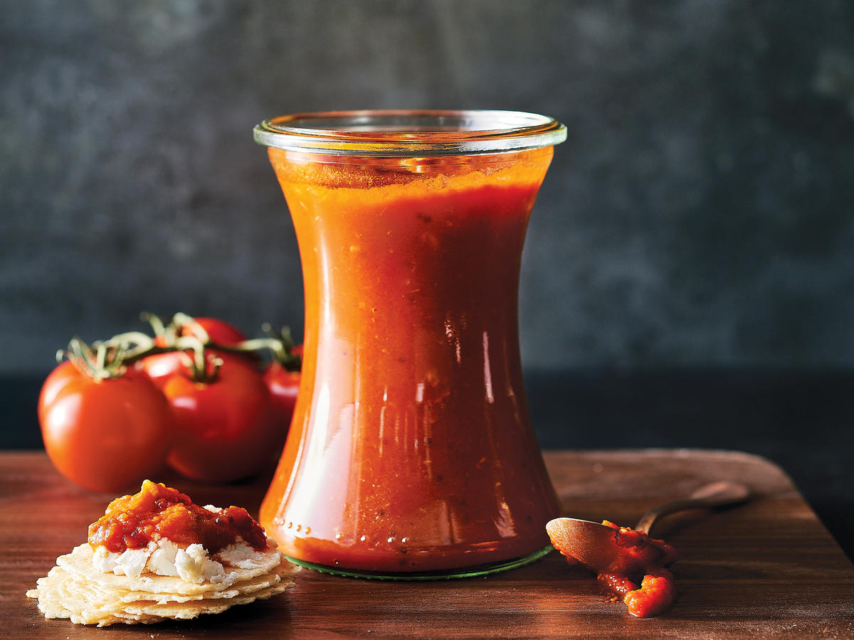South Indian Tomato Chutney
