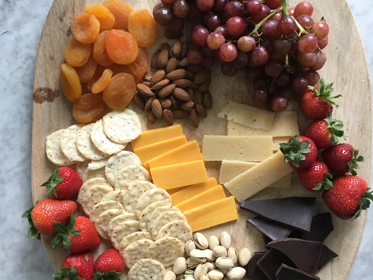 Protein-Packed Cheese Board