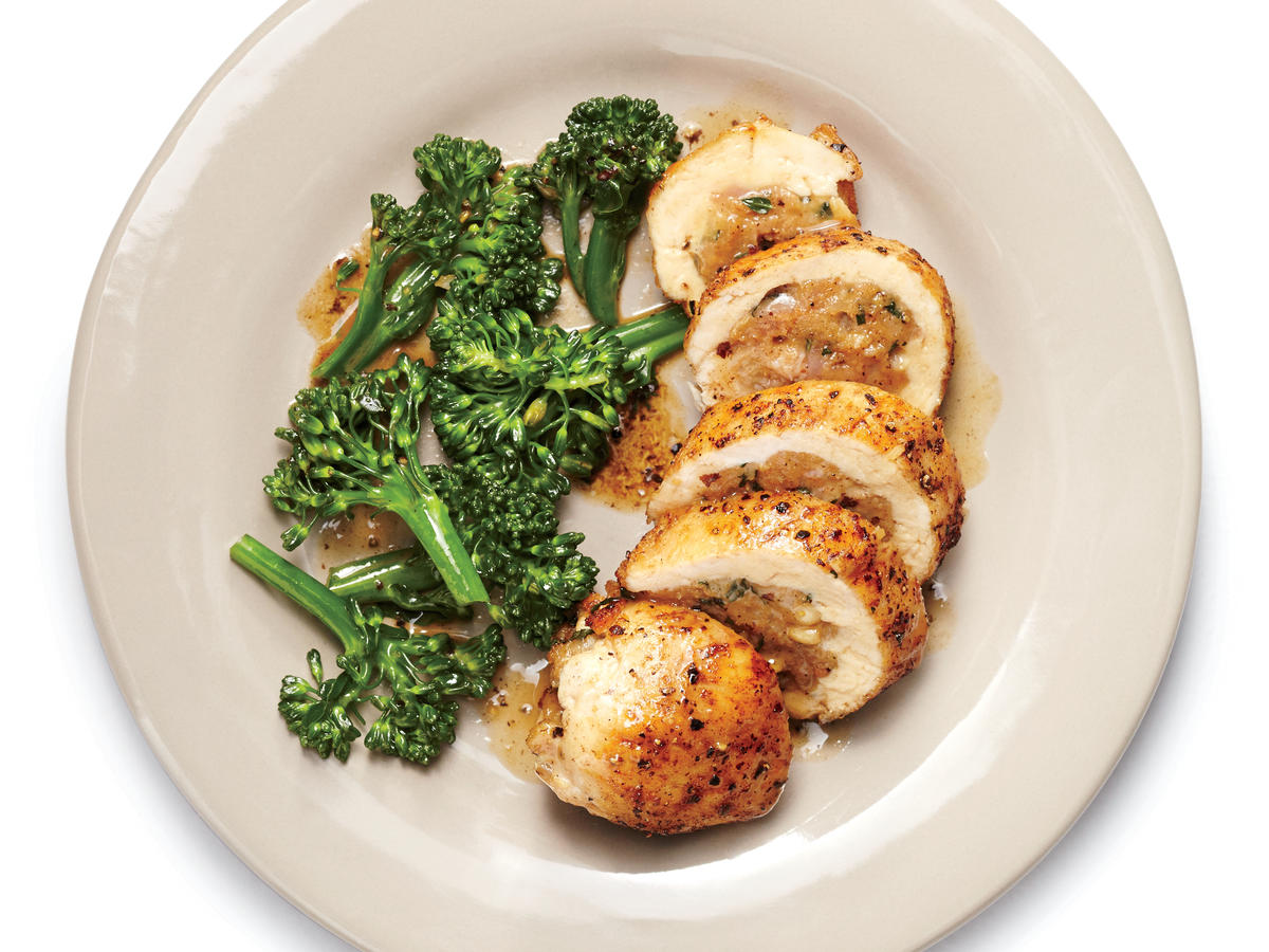 sausage and provolone stuffed chicken recipe