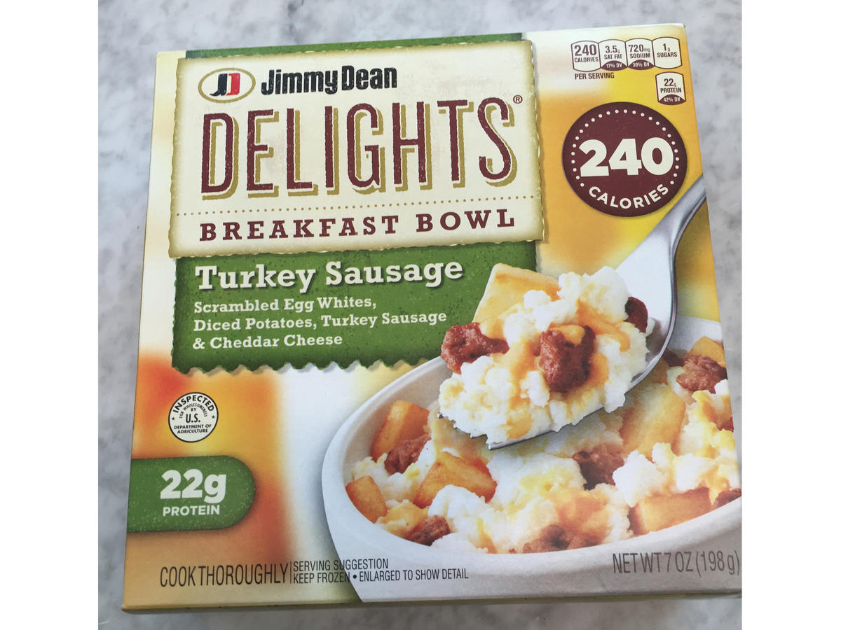 Frozen Food Jimmy Dean Delights Breakfast Bowl