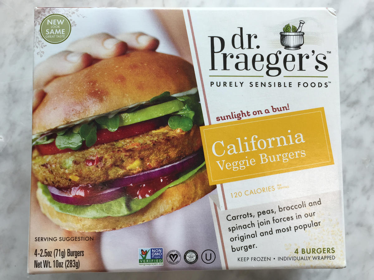 Dr Praegers California Veggie Burger Frozen Food