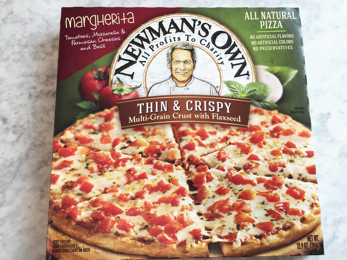 Newman's Own Margherita Pizza Frozen Food