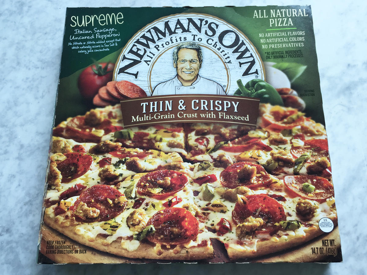 Newman's Own Supreme Pizza Frozen Food