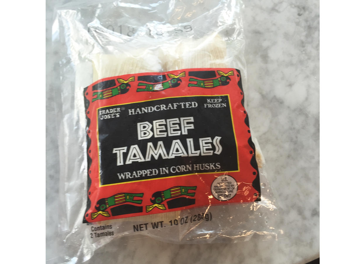 Trader Joe's Beef Tamales Frozen Food