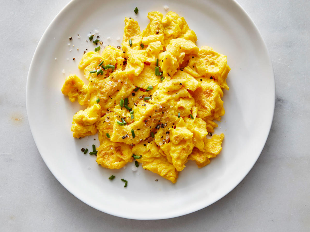 Diner Style Scrambled Eggs Recipe Cooking Light