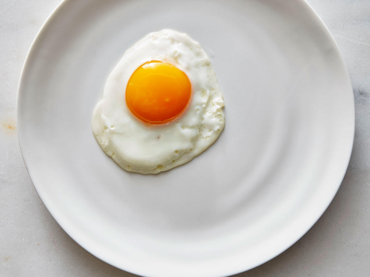 Pristine Sunny Side Up Eggs Recipe Cooking Light