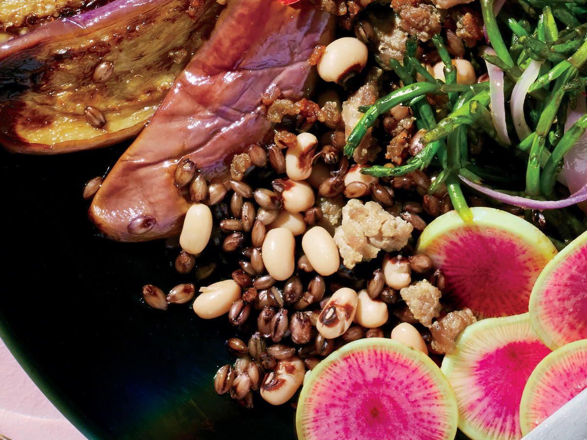 Black Barley with Cow Peas