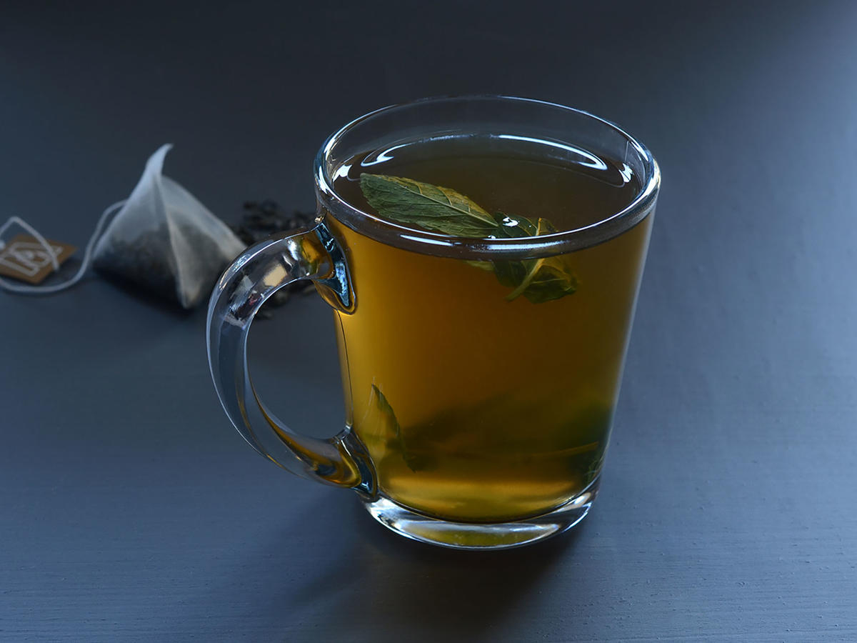 Green Tea and Ginger Tonic