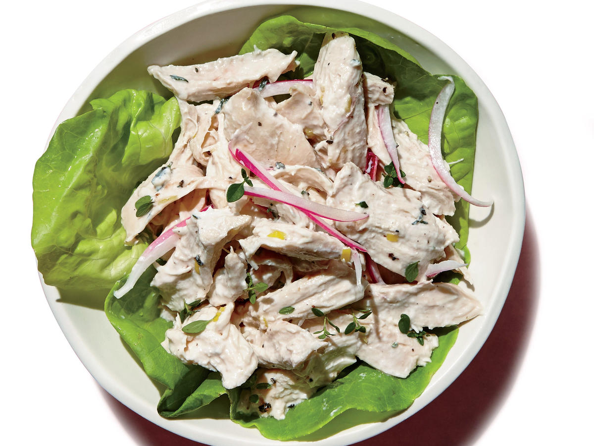 Lemon-Thyme Chicken Salad