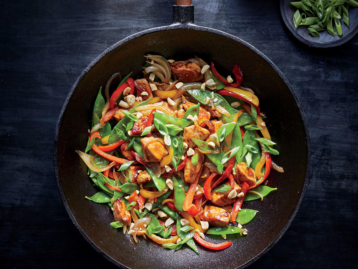 Szechuan Chicken Stir-Fry