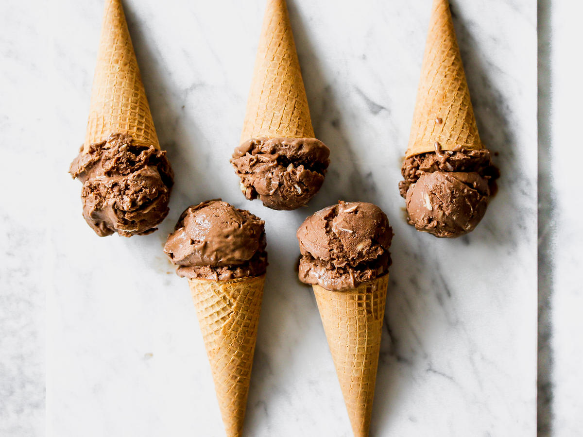 dairy free almond joy ice cream
