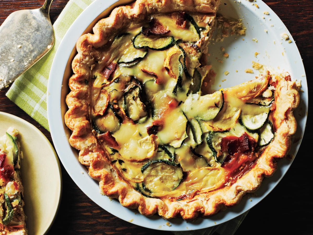Healthy Quiche Recipes Cooking Light