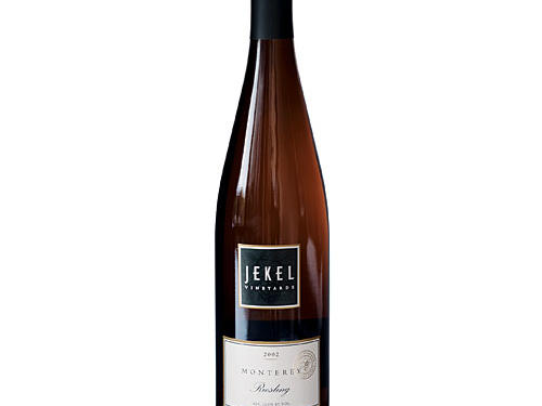 For wine with a wonderful aroma, take a whiff of Jekel Riesling 2002.