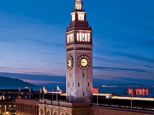 The Ferry Building has served as a food-lovers starting point in San Francisco since 1898