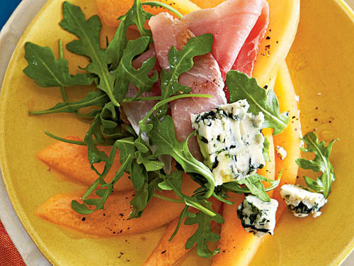 Cantaloupe, Prosciutto, and Cabrales Salad Recipes