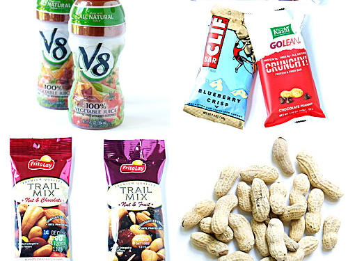 Healthy Road Trip Snacks