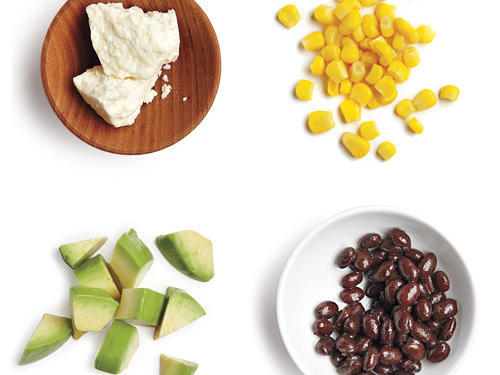 100-Calorie Southwestern Salad Topping