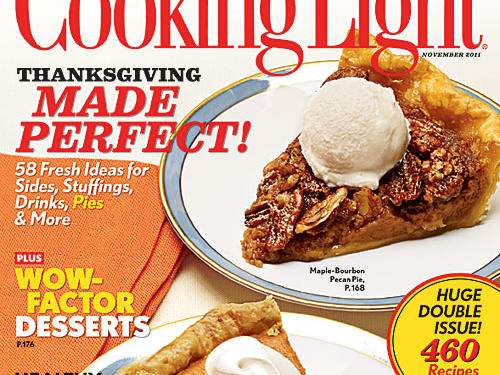 Cooking Light November 2011 Cover