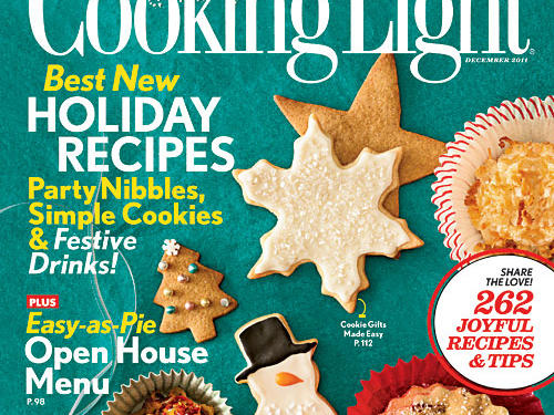 Cooking Light December 2011 Cover