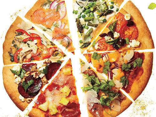 Healthier Pizza Toppings