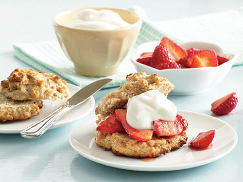 Shortcut Strawberry Shortcakes