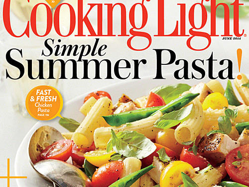 Cooking Light June 2014 Cover