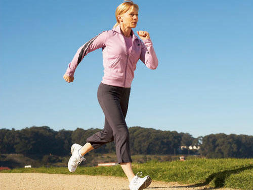Walking with Gin: Work jogging into your workout