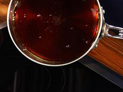 Quick Tip: Cleaning a Pan of Hardened Caramel