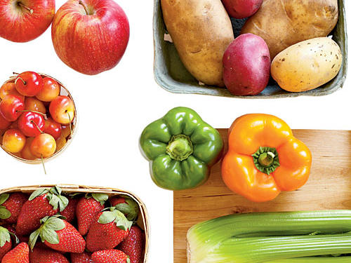 Clean Eating: Fruits and Vegetables