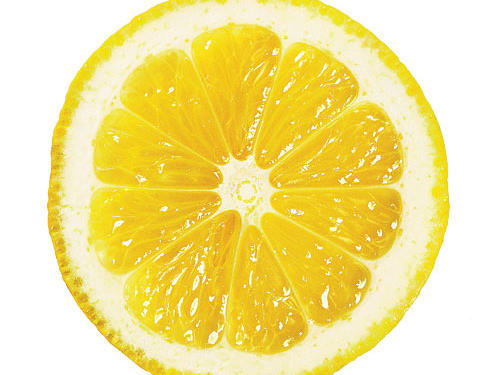Your lemon (or lime) isn't producing much juice