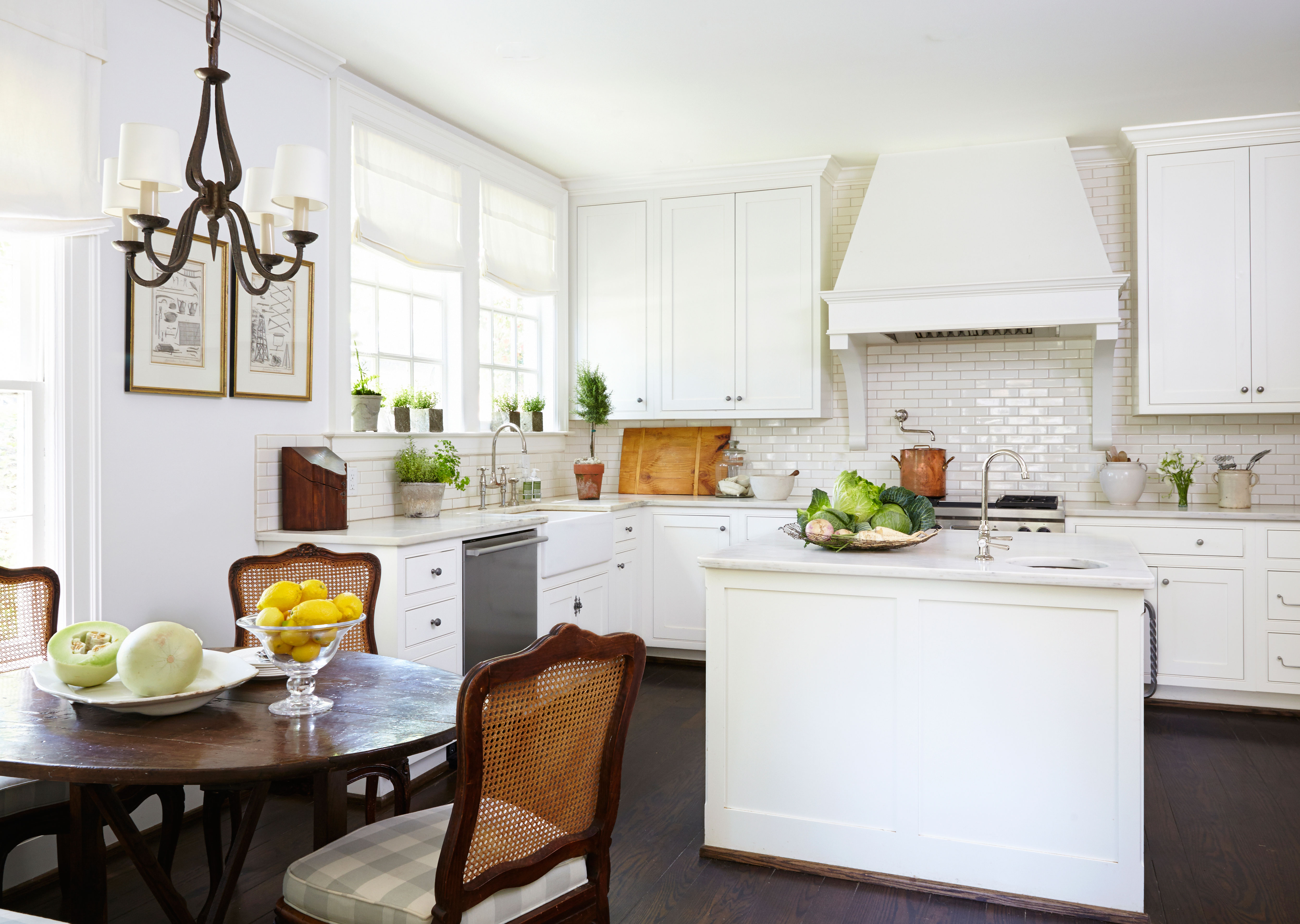 White Designer Network Kitchen