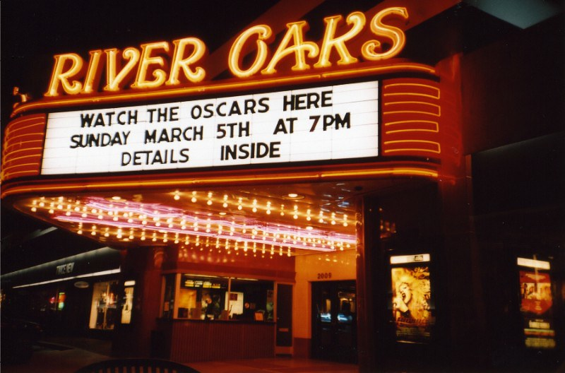 River Oaks Theatre Facade