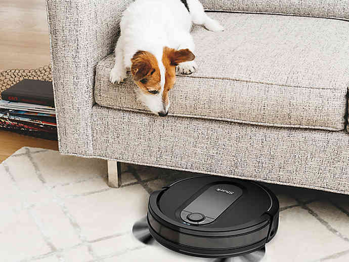 Shark IQ Robot Self-Empty Vacuum R101AE with Self-Empty Base Tout