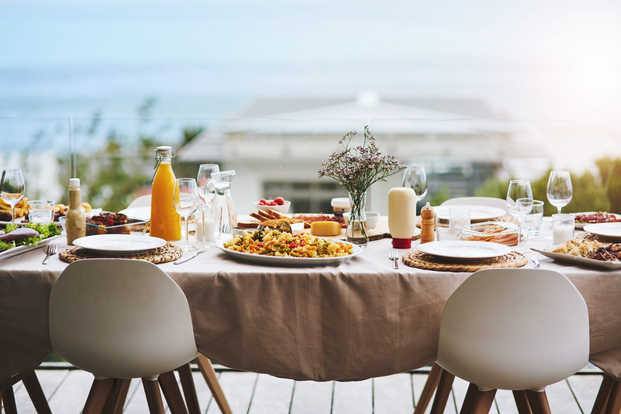 Outdoor Table Entertaining