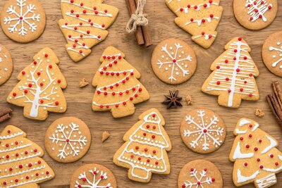 Royal Icing Christmas Cookies.A Genius Way For How To Use Royal Icing That S Not Just