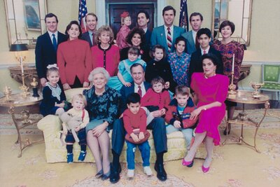 After All These Years Is Bush >> Family Of George Hw Bush Cnn Docuseries Southern Living