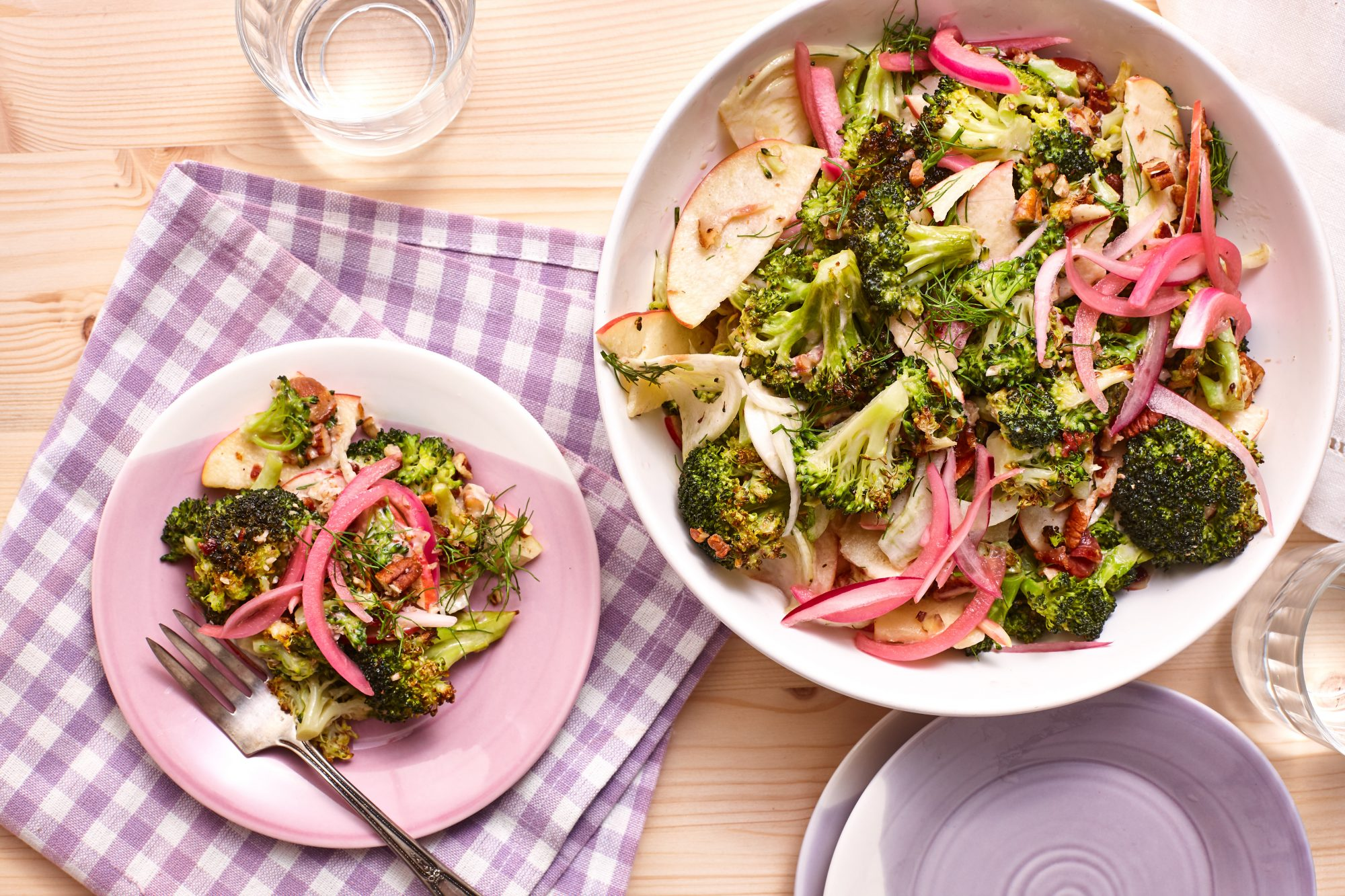 Roasted Broccoli Salad