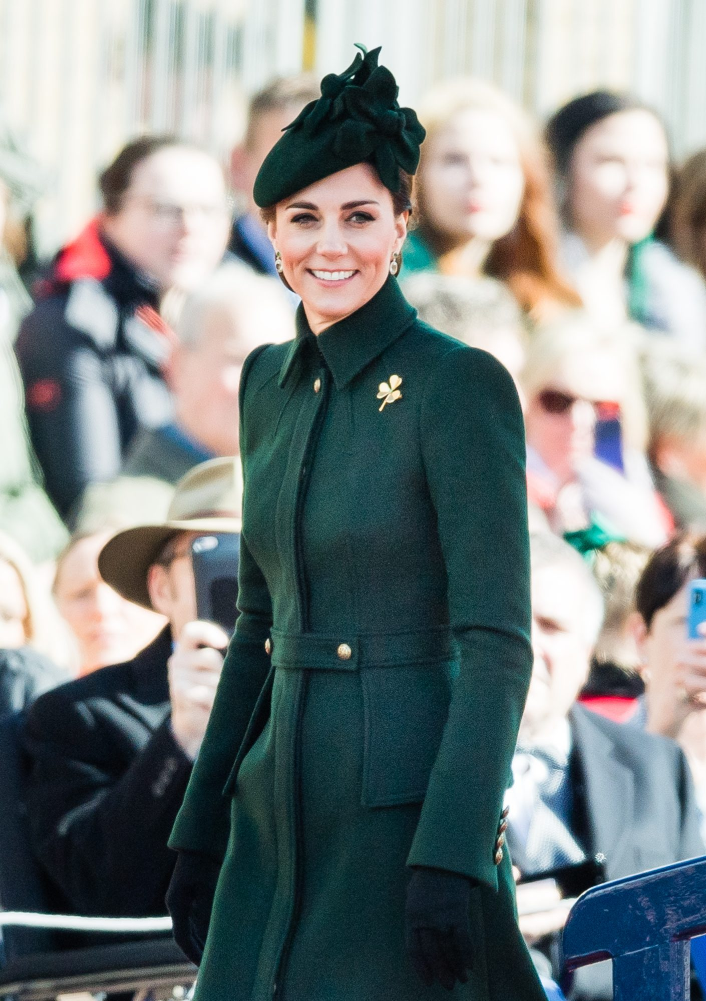 Kate Middleton Shamrock Brooch