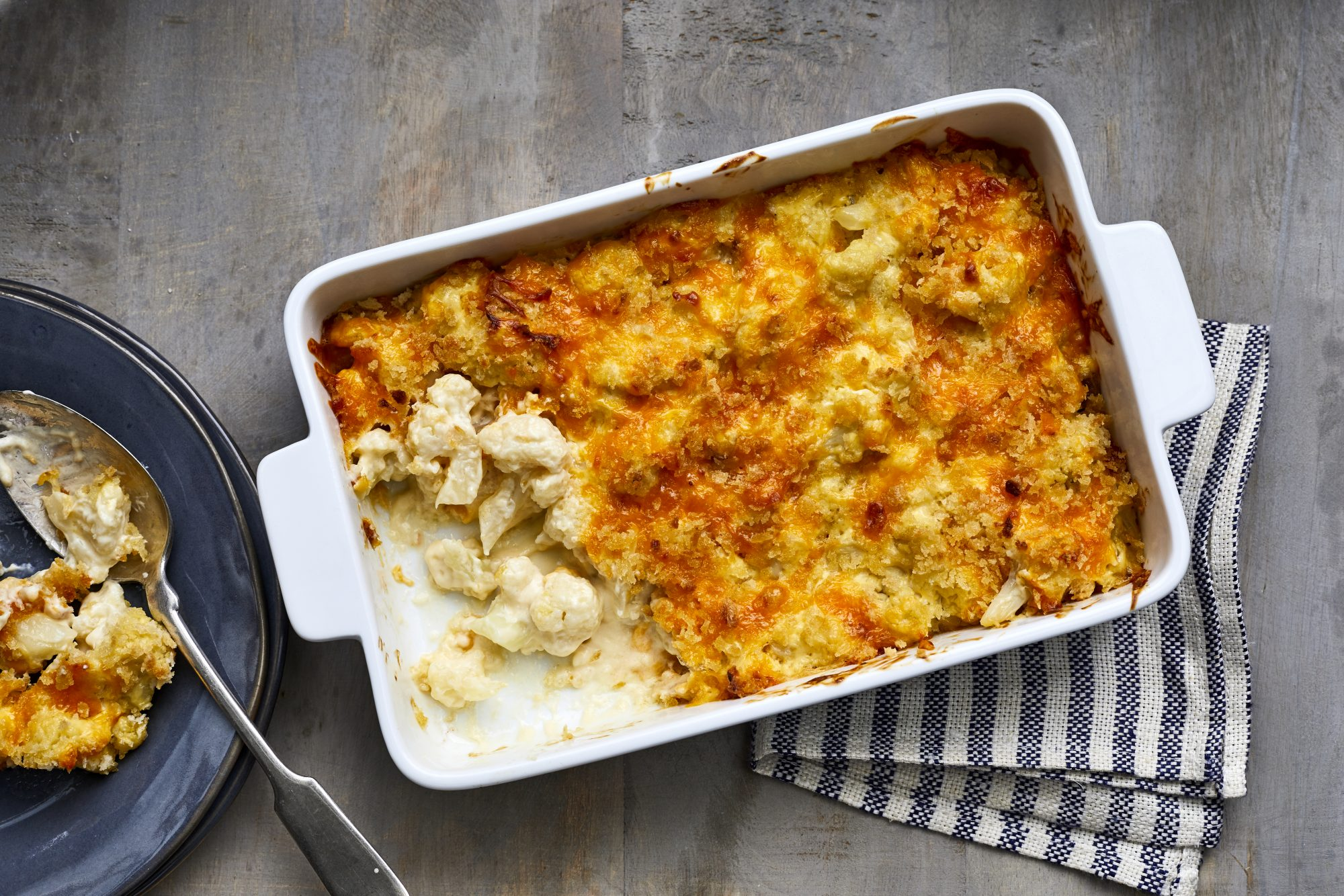 Easy Cauliflower Casserole