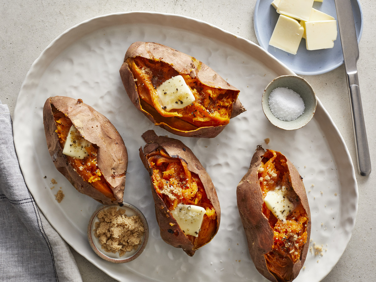 Oven-Baked Sweet Potatoes