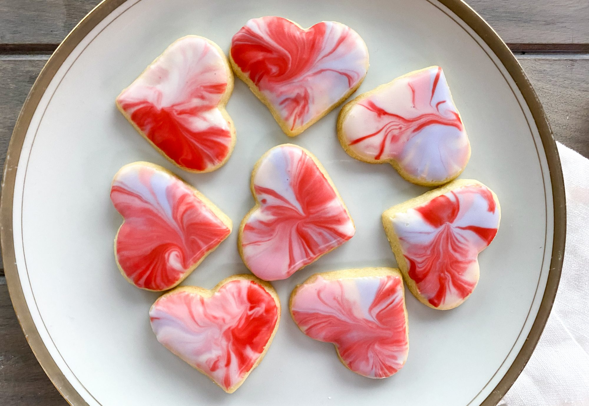 Marbled Sugar Cookies