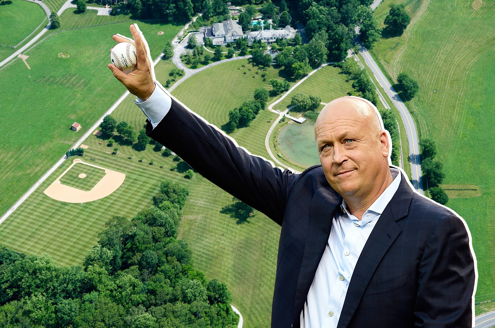 This Baseball Legend Is Auctioning Off His 24-Acre Mansion With Its Own Diamond