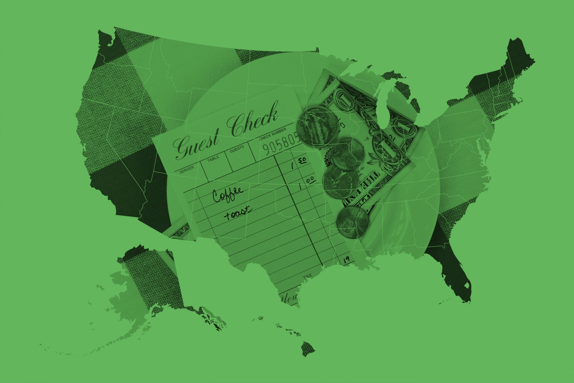This Map Shows Which States Are the Best Tippers — And Which Are the Worst